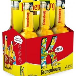"""Kronenbourg K, la nouvelle """"bière"""" aromatisée"""