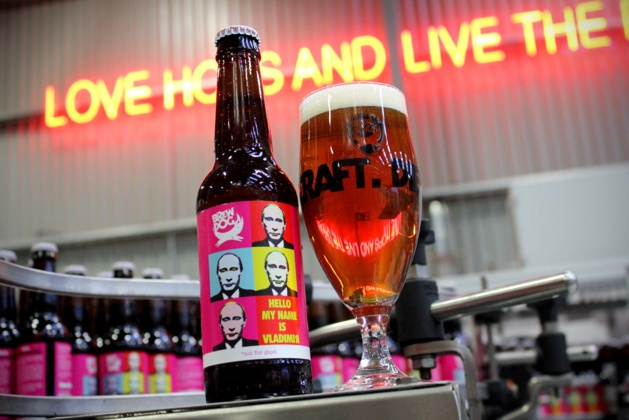 « Hello, my name is Vladimir » la bière contre les JO de Sotchi de BrewDog