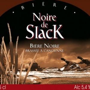 Entre ciel et terre, la Noire de Slack, bière brune de la Côte d'Opale