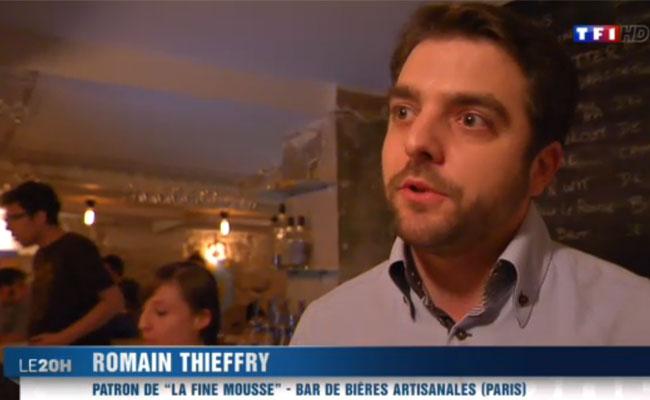 TF1 parle de la révolution brassicole dans le JT de 20h