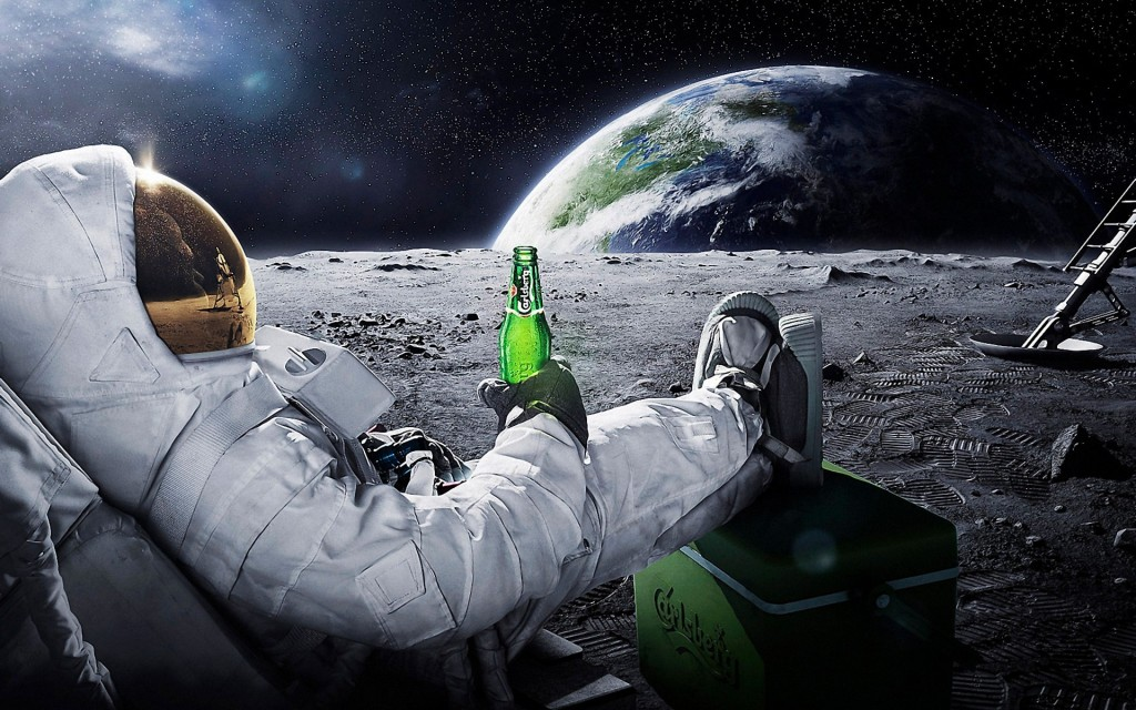 Carlsberg moon merch