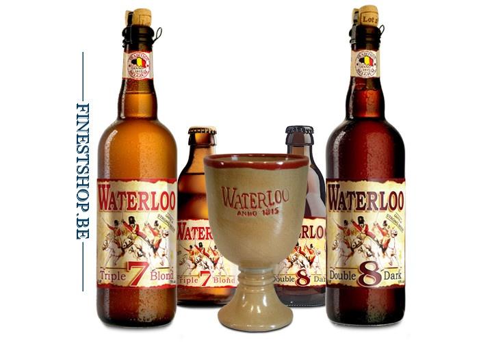 Qui remporte les bières Waterloo et leur calice ?