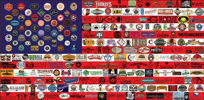 La semaine de la bière artisanale américaine