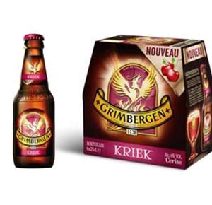Grimbergen Kriek, la nouvelle aromatisée à la cerise