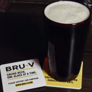 Le nouveau verre BRU-V qui garde ta bière fraîche !