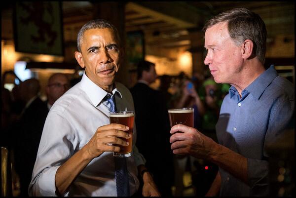 Barak Obama aime la bière artisanale