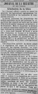 Journal de la Meurthe, 25 août 1918