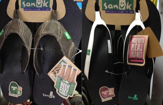 La communication délirante de la marque de chaussure Sanuk