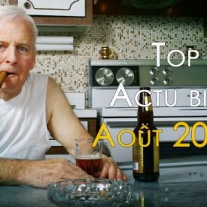 Top 10 actualité bière d'Août 2014