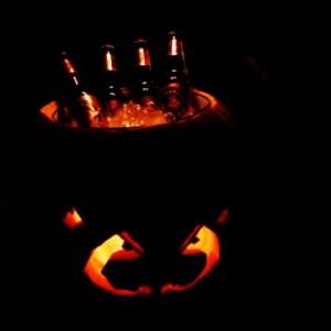 Fabriquez un refroidisseur citrouille design pour Halloween