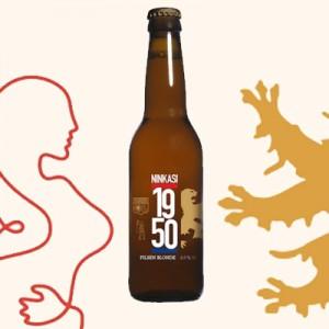 1950, la nouvelle bière de l'Olympique Lyonnais et Ninkasi
