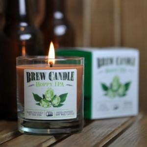 Des bougies qui sentent la bière (IPA, Porter, Wheat...)