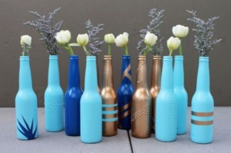 beer-bottle-vase