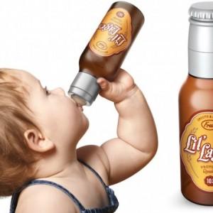 De la bière pour les bébés