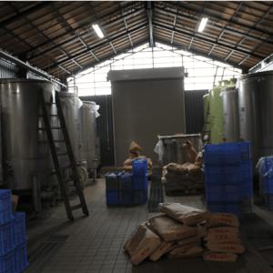 Salle de brassage du saké 3