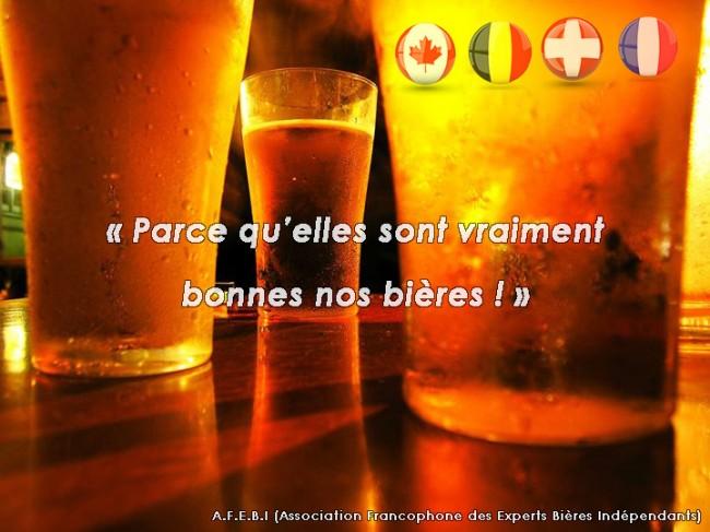 Une nouvelle association francophone de promotion de la bière