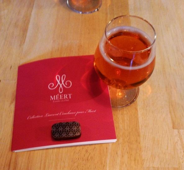 Bière et chocolat: un surprenant mariage