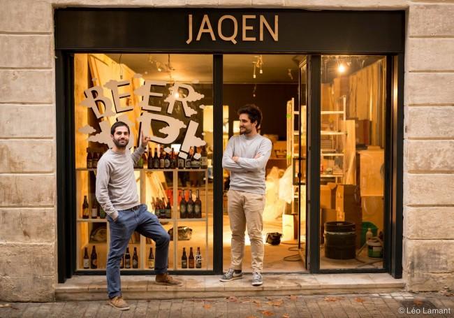 Benjmain (à gauche) et Cédric (à droite) au 5 rue Beaubadat à Bordeaux