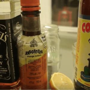 Cocktail la bi re am re le bourbon bitter for Cocktail embuscade