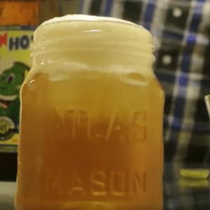 Cocktail à la bière amère, Le Bourbon Bitter