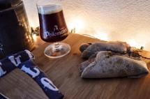 Galette saucisse au four à la bière Philomenn blonde