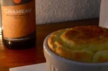 Soufflé aux fromages, jambon et à la bière Docteur Gab's