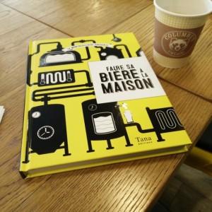 Test du Livre Faire sa bière à la maison - La Montreuilloise