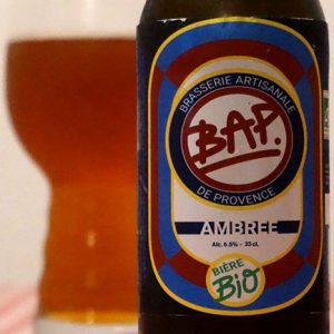BAP 13 Bière Ambrée