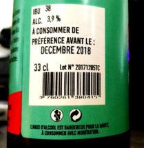 Mentions obligatoires sur une étiquette de bière