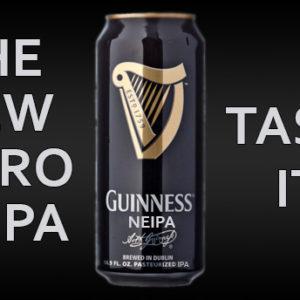 Guinness lance une Nitro NEIPA !
