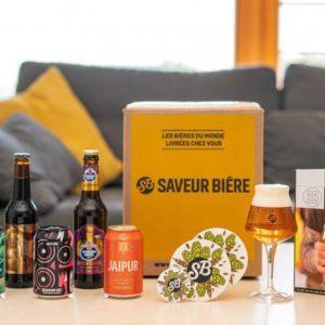 Présentation de la box bière de Saveur Bière